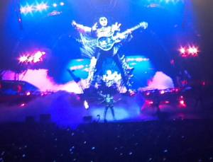 Gene Simmons of KISS in Orlando 8/16/2013